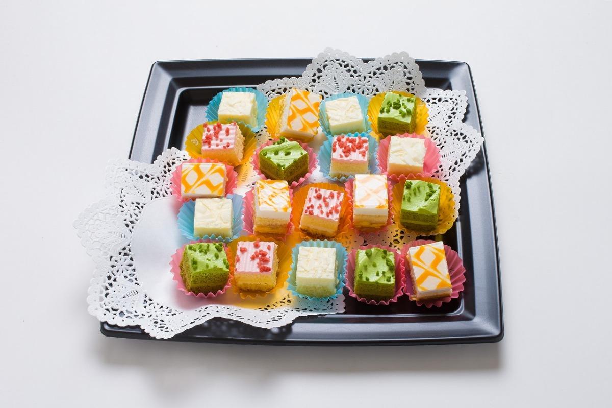 プチカットケーキ お口直しに嬉しいふわっとした優しい甘さ「プチカットケーキ」
