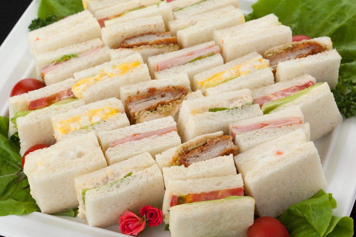 サンドイッチ 定番メニューは人気の献立だけをチョイス。 おさえのひと品。「サンドイッチ」